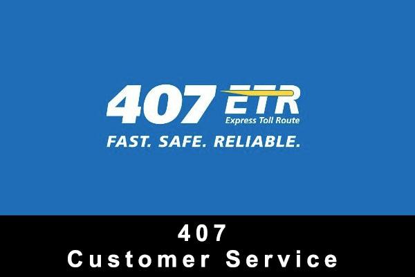 Highway 407 Custome Service Phone Canada